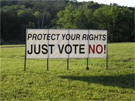 Just Vote No...By Our Proxy!