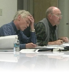 GM Ray Sohl and Secretary Ken Murphy