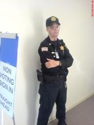 Gun-toting Guard Oct 2007 Election