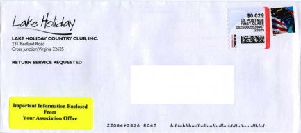 Envelope from LHCC Election Mailer