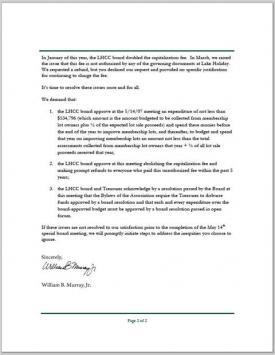 ODLLC 5/11/07 Letter Pg 2